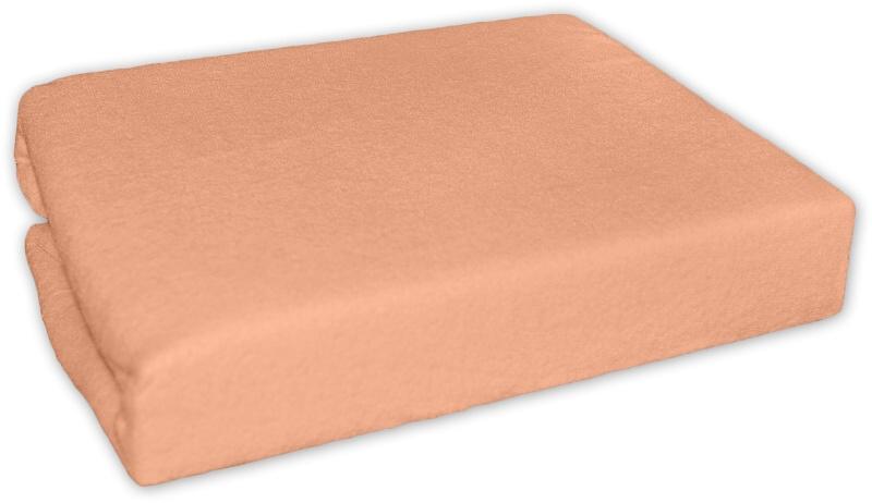 Froté prostěradlo - Pomeranč - 140x70