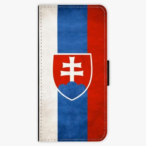 Flipové pouzdro iSaprio - Slovakia Flag - Samsung Galaxy S7 Edge