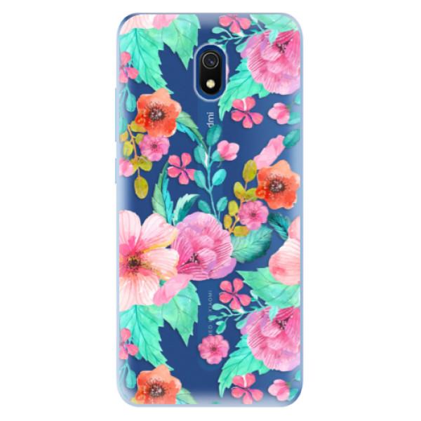 Odolné silikonové pouzdro iSaprio - Flower Pattern 01 - Xiaomi Redmi 8A