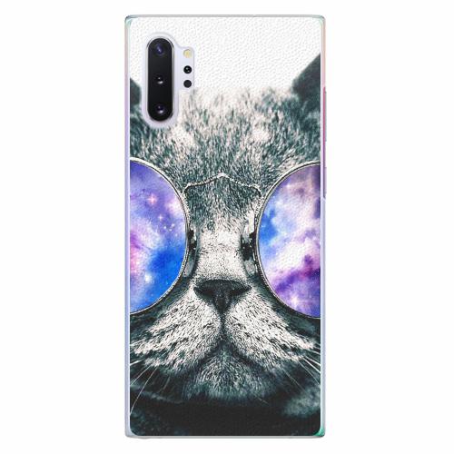 Plastový kryt iSaprio - Galaxy Cat - Samsung Galaxy Note 10+