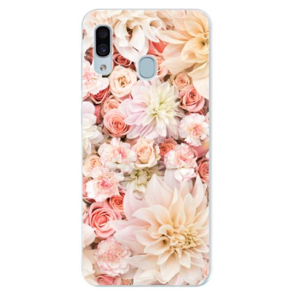 Silikonové pouzdro iSaprio - Flower Pattern 06 - Samsung Galaxy A30