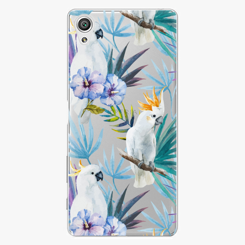 Plastový kryt iSaprio - Parrot Pattern 01 - Sony Xperia X