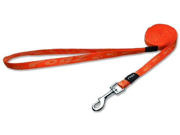 Vodítko ROGZ Alpinist oranžové S