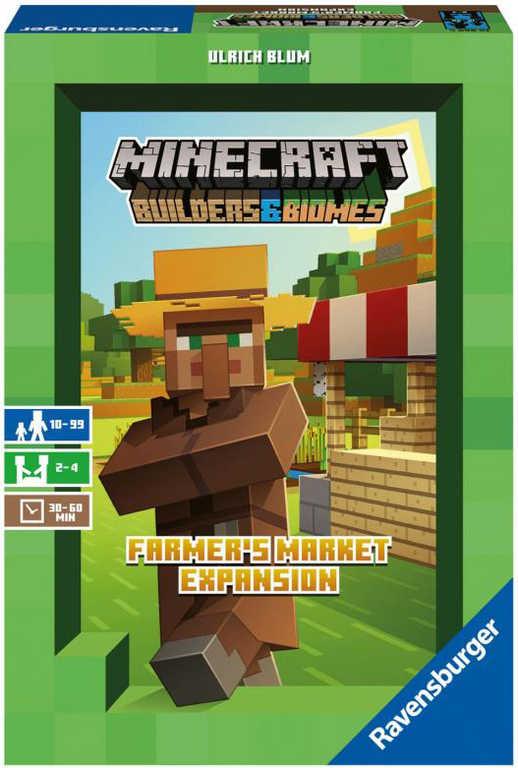 RAVENSBURGER Hra Minecraft Farmářský trh rozšíření Builders and Biomes