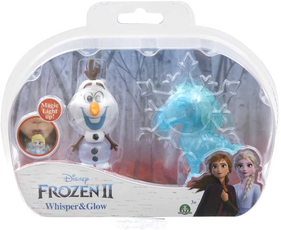 ADC Svítící mini panenka Olaf + The Nokk Ledové Království na baterie Světlo