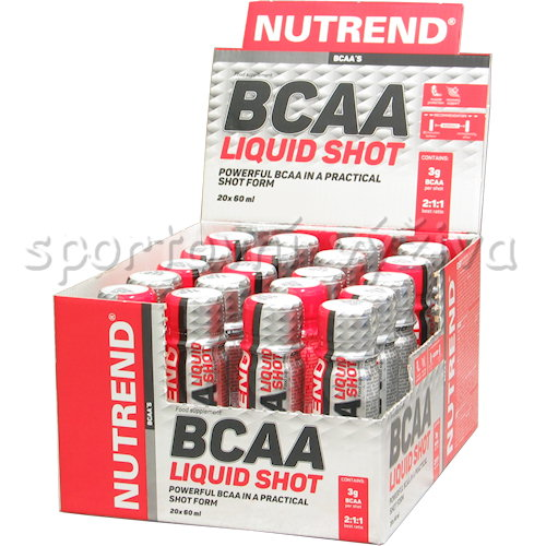 BCAA Liquid Shot 2:1:1 20x60ml