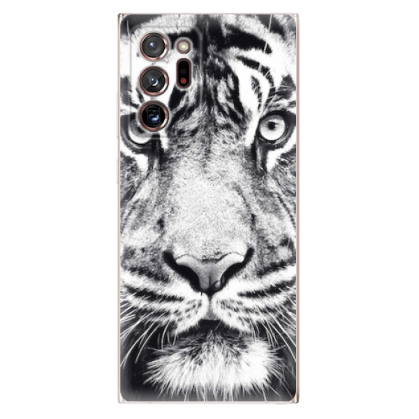 Odolné silikonové pouzdro iSaprio - Tiger Face - Samsung Galaxy Note 20 Ultra