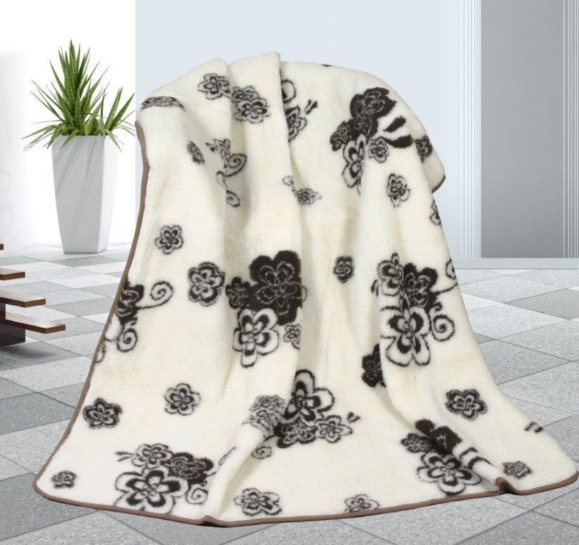 Vlněná deka 155x200cm Tomar 450g/m2 - Evropské merino