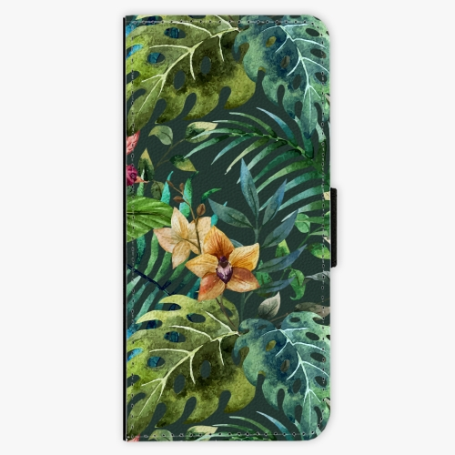 Flipové pouzdro iSaprio - Tropical Green 02 - Samsung Galaxy Note 8