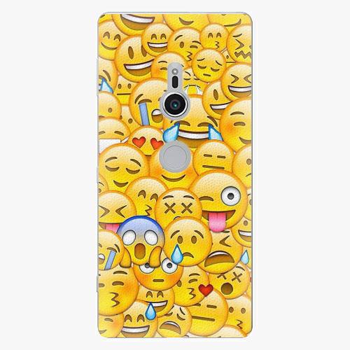 Plastový kryt iSaprio - Emoji - Sony Xperia XZ2