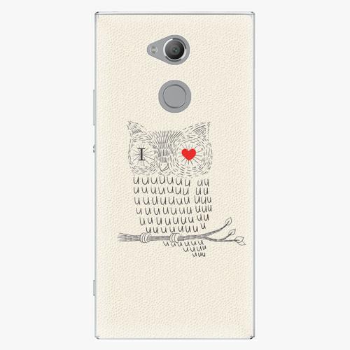 Plastový kryt iSaprio - I Love You 01 - Sony Xperia XA2 Ultra