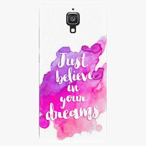 Plastový kryt iSaprio - Believe - Xiaomi Mi4