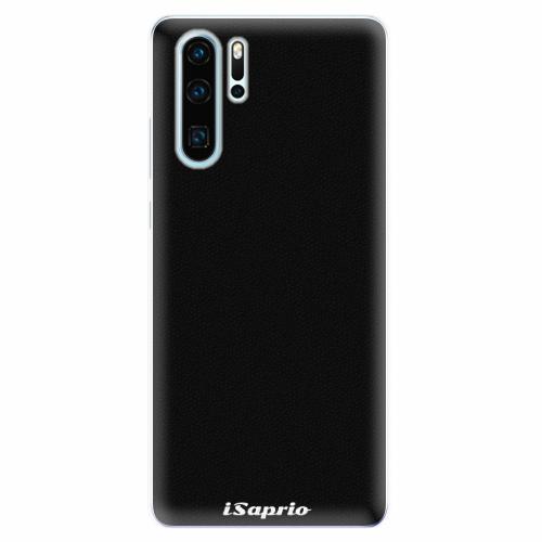 Silikonové pouzdro iSaprio - 4Pure - černý - Huawei P30 Pro