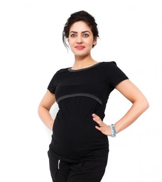 Be MaaMaa Těhotenské a kojící triko Aldona
