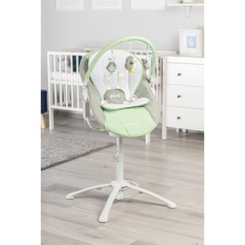 Dětská jídelní židlička 3v1 Caretero Kivi