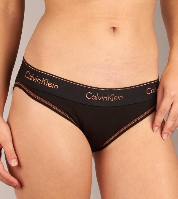 Kalhotky QF4075E - Calvin Klein - Černá/M
