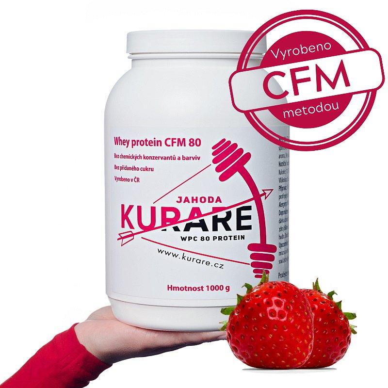 Kurare WPC 80 CFM protein - Jahoda