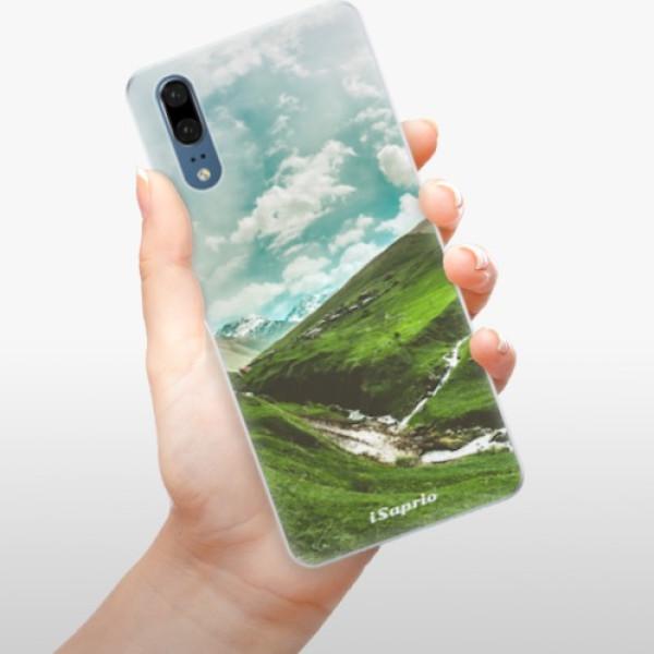 Silikonové pouzdro iSaprio - Green Valley - Huawei P20
