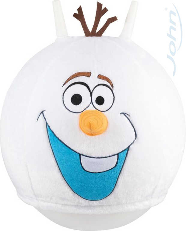 JOHN Hopsadlo Frozen Olaf 45cm míč skákací s textilním potahem Ledové Království