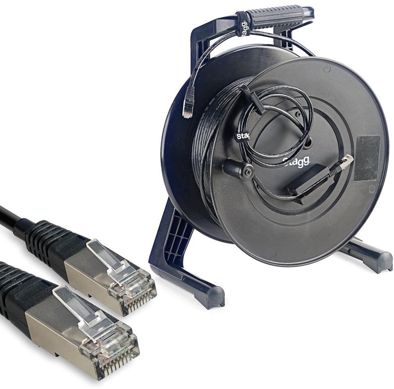 Stagg NCC50RJRL, síťový kabel RJ45/RJ45, 50m