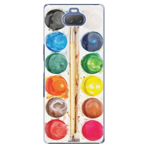 Plastové pouzdro iSaprio - Watercolors - Sony Xperia 10 Plus