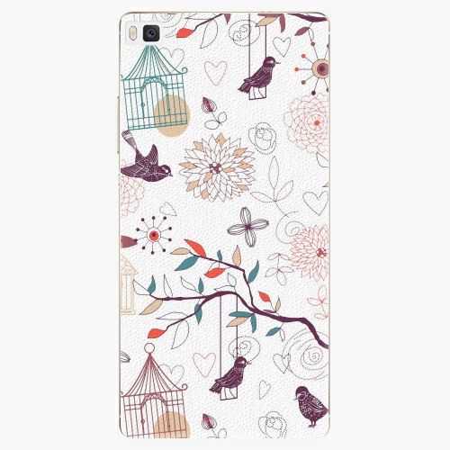 Plastový kryt iSaprio - Birds - Huawei Ascend P8