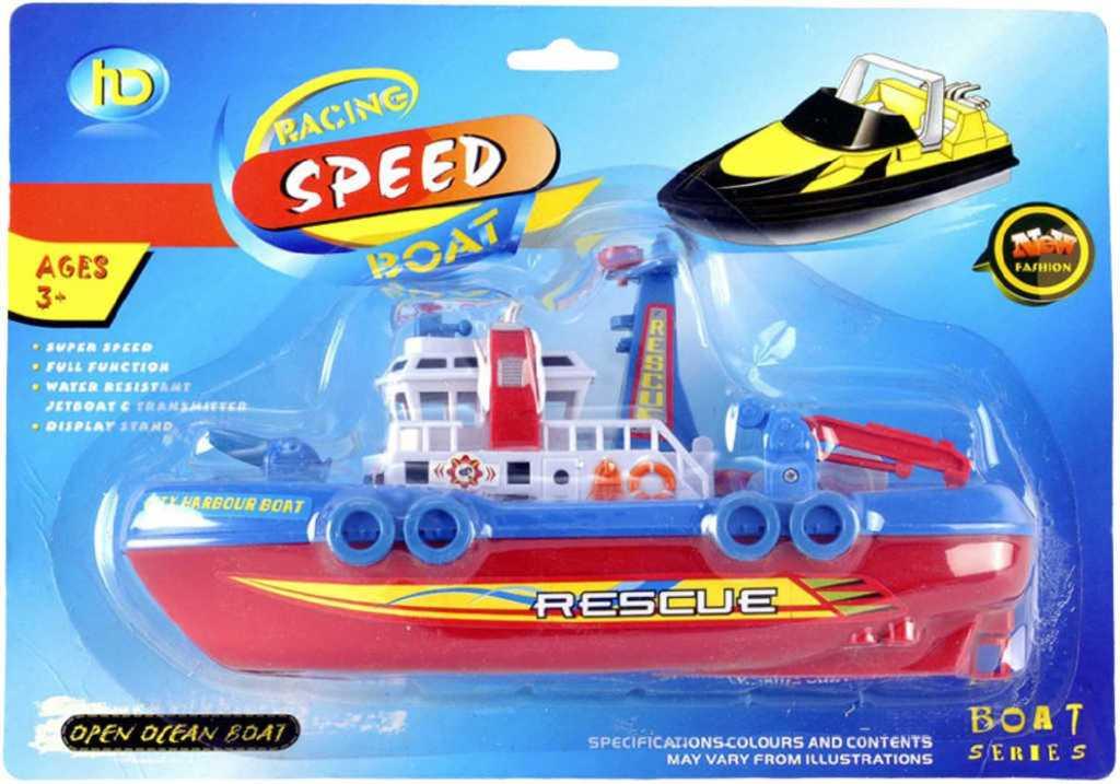 Loď oceánský parník na baterie do vody