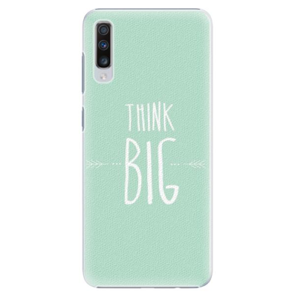 Plastové pouzdro iSaprio - Think Big - Samsung Galaxy A70