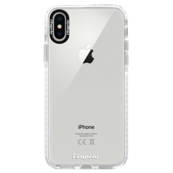 Silikonové pouzdro Bumper iSaprio - 4Pure - mléčný bez potisku - iPhone X