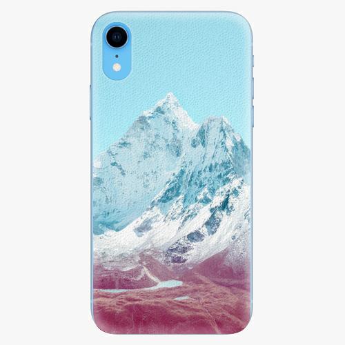 Silikonové pouzdro iSaprio - Highest Mountains 01 - iPhone XR
