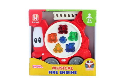 Zvukové požární auto