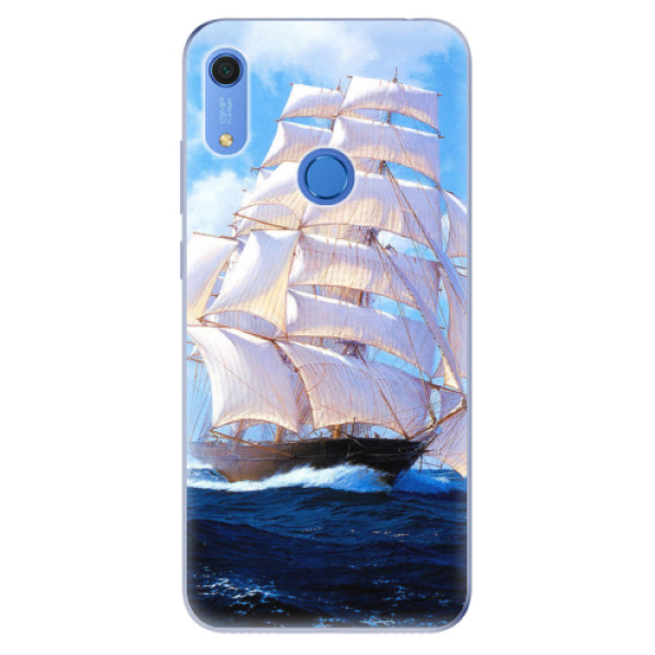 Odolné silikonové pouzdro iSaprio - Sailing Boat - Huawei Y6s