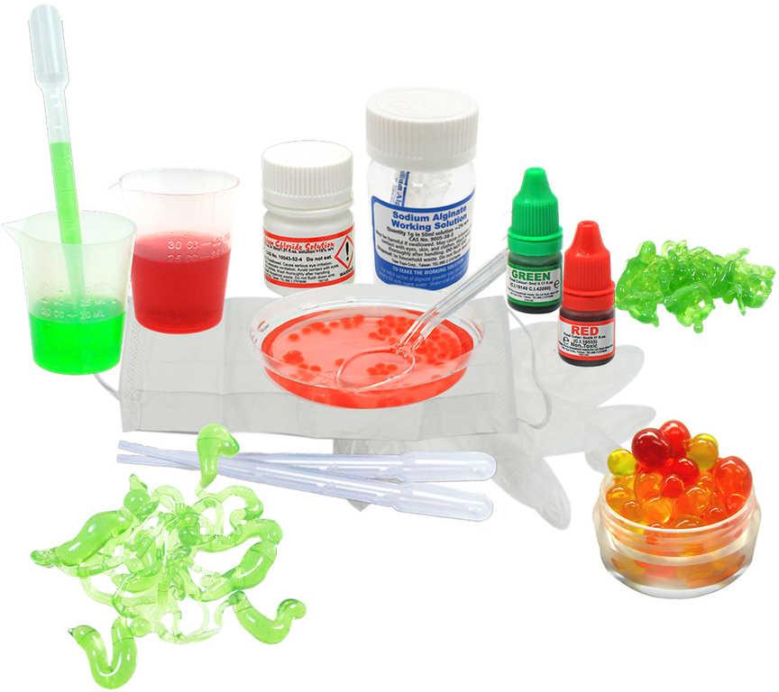 ALBI Laboratoř chemická experimentální set v krabici