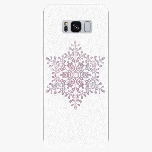 Silikonové pouzdro iSaprio - Snow Flake - Samsung Galaxy S8
