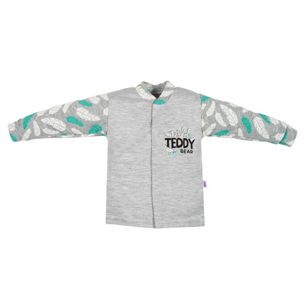 Kojenecký bavlněný kabátek New Baby Wild Teddy