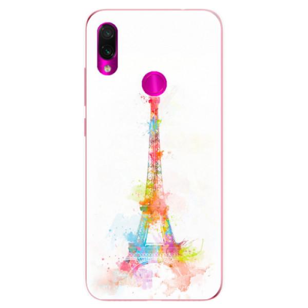Odolné silikonové pouzdro iSaprio - Eiffel Tower - Xiaomi Redmi Note 7