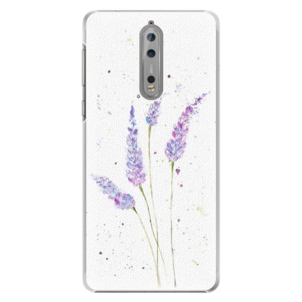 Plastové pouzdro iSaprio - Lavender - Nokia 8