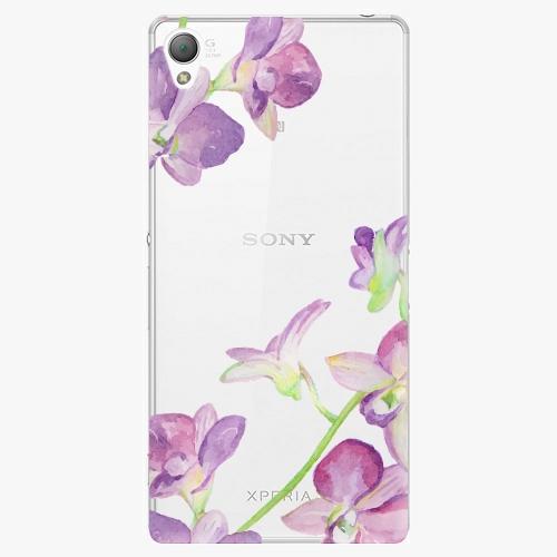 Plastový kryt iSaprio - Purple Orchid - Sony Xperia Z3