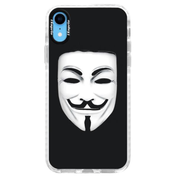 Silikonové pouzdro Bumper iSaprio - Vendeta - iPhone XR