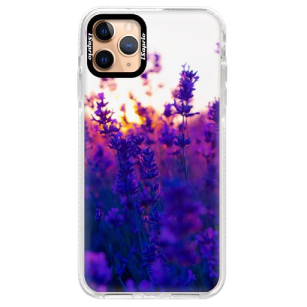 Silikonové pouzdro Bumper iSaprio - Lavender Field - iPhone 11 Pro Max