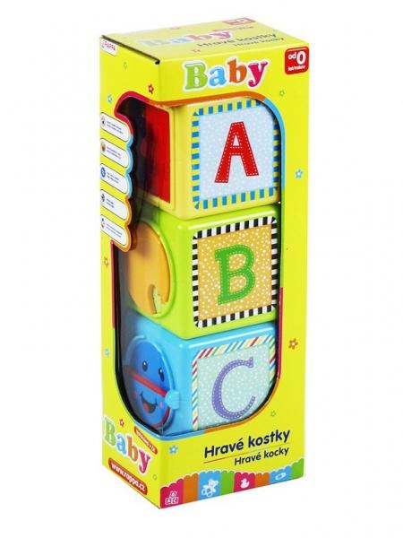 Naučné kostky BABY 3 ks
