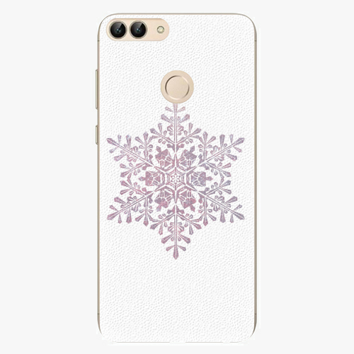 Silikonové pouzdro iSaprio - Snow Flake - Huawei P Smart