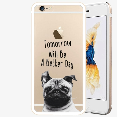 Plastový kryt iSaprio - Better Day 01 - iPhone 6 Plus/6S Plus - Gold