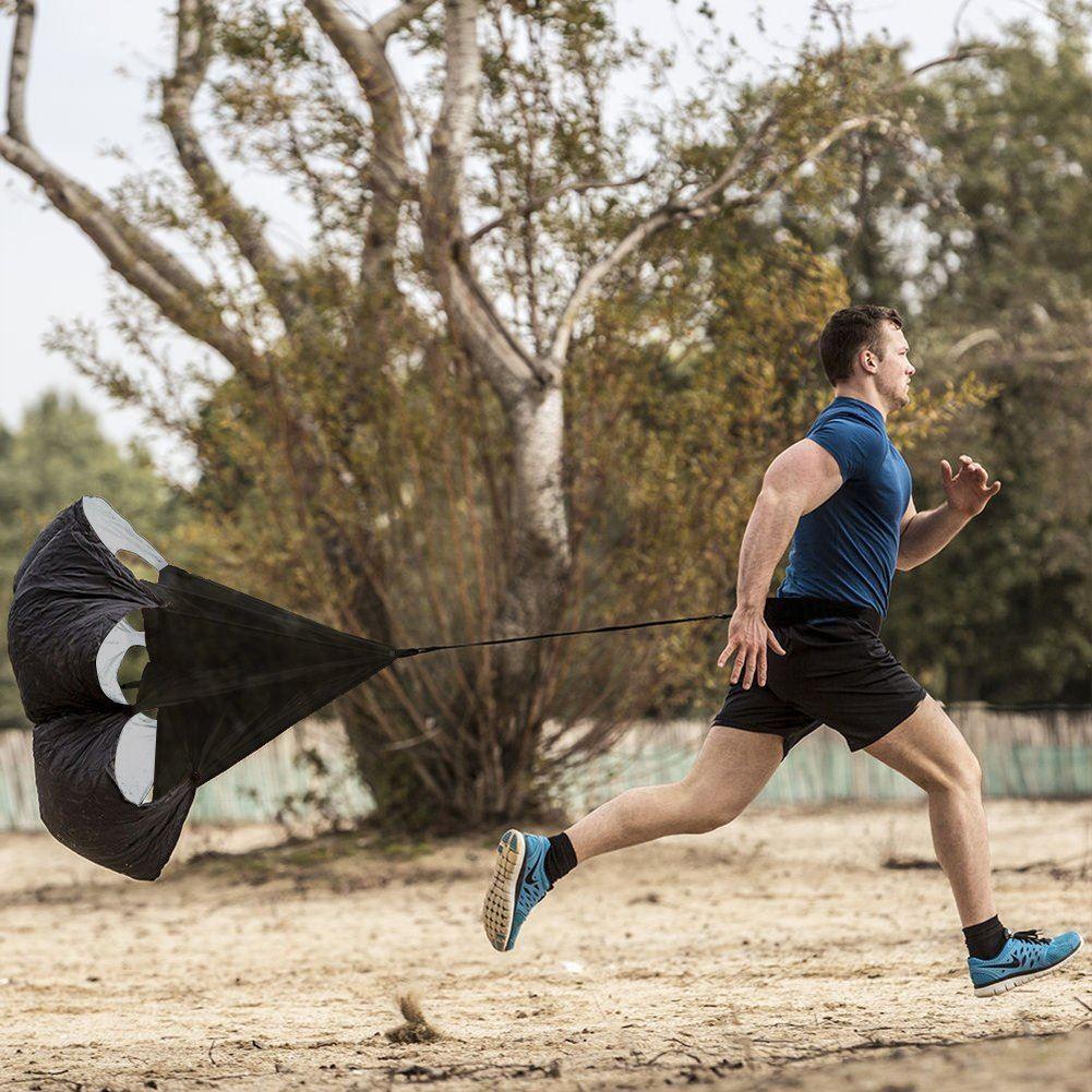 Odporový padák na běhání