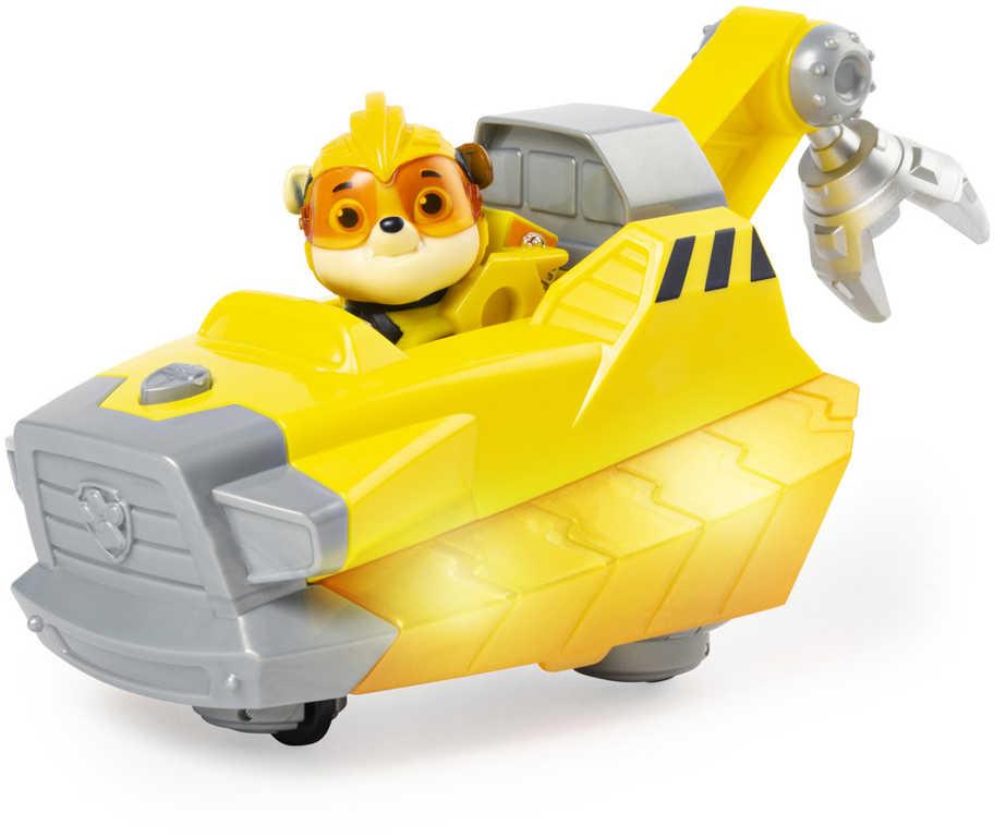 SPIN MASTER Vozidla hrdinů set s figurkou Tlapková Patrola na baterie Světlo Zvuk