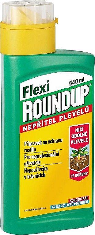 Roundup Flexi gel na hubení plevele, 540 ml