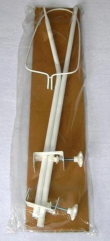 MamoTato Konstrukce - držák nebes/moskytiery - bílý