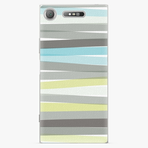 Plastový kryt iSaprio - Stripes - Sony Xperia XZ1
