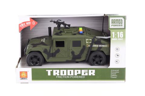Vojenské auto baterie