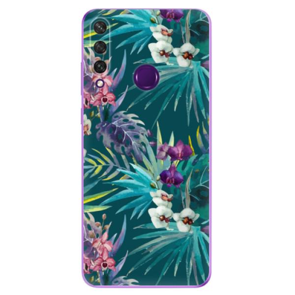Odolné silikonové pouzdro iSaprio - Tropical Blue 01 - Huawei Y6p